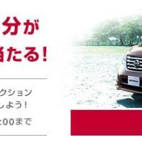 QUOカード1万円分が当たる日産自動車の懸賞キャンペーン!