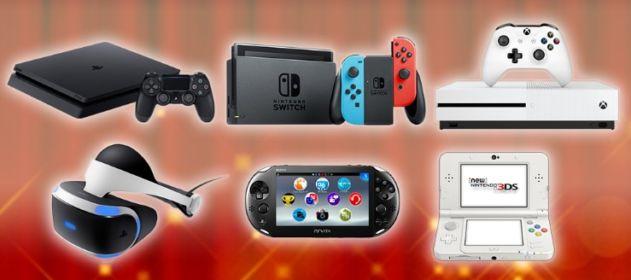 任天堂スイッチ、PS4、PSVR、XBOX ONEなど最新ゲーム機が当たる豪華キャンペーン!