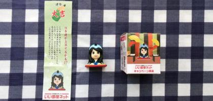 いい部屋ネットの懸賞で、桜井日奈子お守りフィギュア「第2弾」が当選!