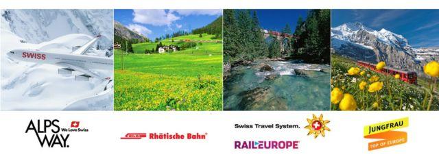 世界遺産とアルプスをめぐるスイス8日間が当たる、海外旅行懸賞!