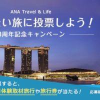 マリーナベイ・サンズに宿泊できるシンガポール取材旅行懸賞!