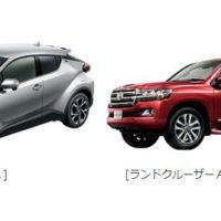 トヨタの超人気コンパクトSUV「C-HR」が当たる車懸賞!