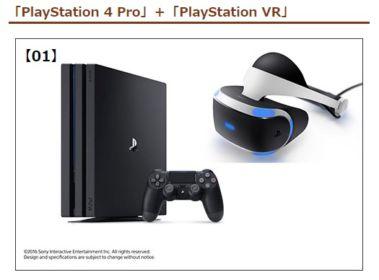 PS4 Pro&VR、Nintendo Switch、GeForce RTX2080ほか多数が当たる高額懸賞!