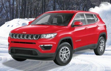 インスタで「Jeep Compass SPORT」が当たる輸入車懸賞!