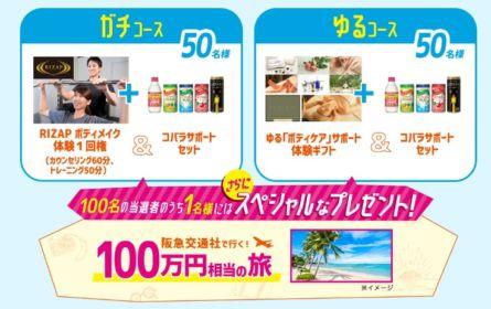 100万円相当の豪華海外旅行が当たる、Twitterキャンペーン!