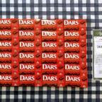 森永のTwitterキャンペーンで「DARS 1年分」が当選!