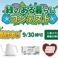 緑のカーテンに関する写真・川柳投稿キャンペーン!
