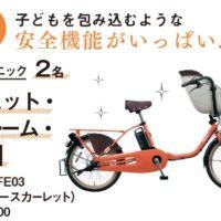 総額100万円分の電動自転車が当たるアンケート懸賞!
