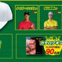 JTB旅行券5万円分が10名、カタログギフト5千円分が90名に当たる高額懸賞!
